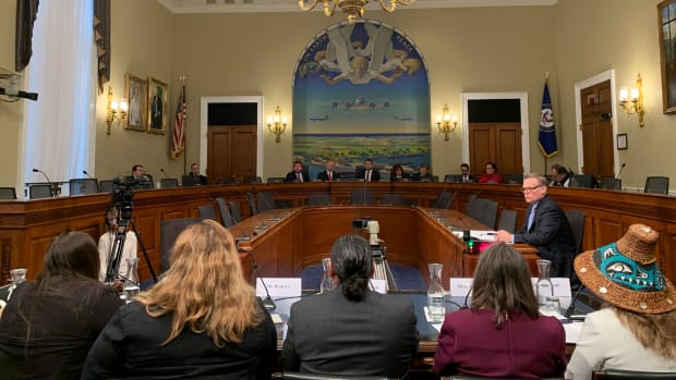 Hearing room for indigenous peoples