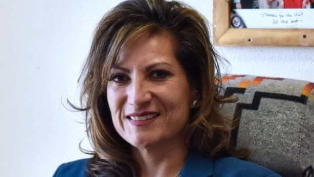 Pictured: Amber Torres, Chairman of the Walker River Paiute Tribe.