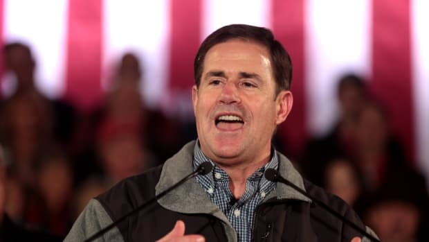 Arizona Republican Gov. Doug Ducey.
