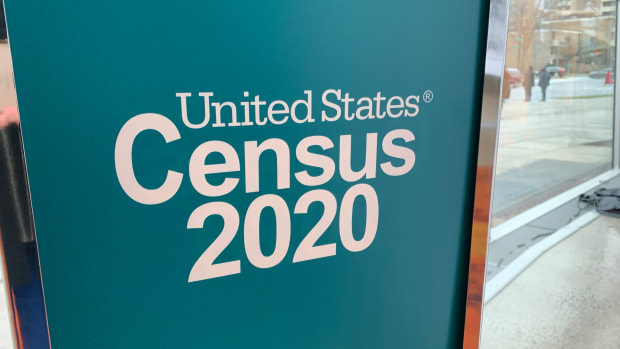 2020 Census advertising and outreach campaign launch in Washington, D.C., on January, 14, 2020. (Photo by Jourdan Bennett-Begaye)