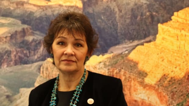 State Sen. Victoria Steele introduced a bill in the Arizona Legislature to establish a committee to track murdered and missing indigenous women and analyze the data. (Photo by Kelsey Mo/Cronkite News)