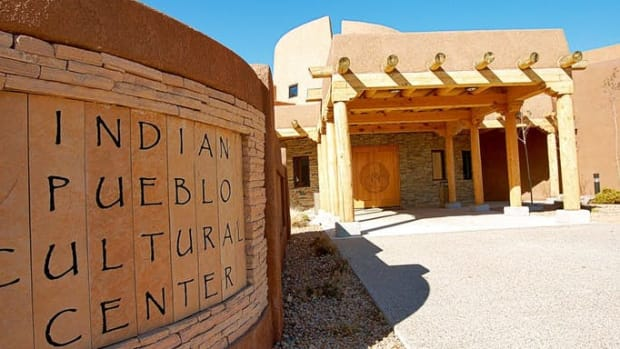 Pictured: The Indian Pueblo Cultural Center in Albuquerque, New Mexico.