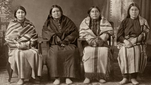 The Osage Burkhart sisters. (Photo courtesy of Osage News)