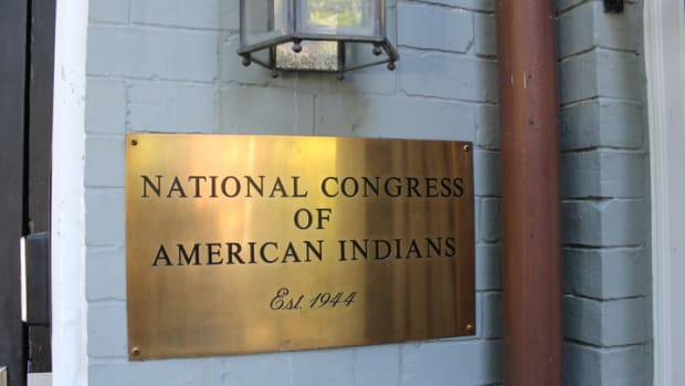 National Congress of American Indians entrance.