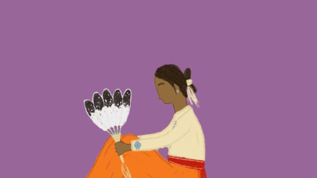 Mental health in Indian Country during COVID-19. (Illustration by Taylor Bennett-Begaye)
