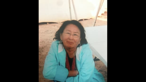 Helen Nez, Navajo, died on June 8, 2020 from COVID-19 complications. She was 80 years old. (Photo courtesy of Kayla Pinkard)