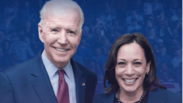Vice President Joe Biden and Senator Kamala Harris