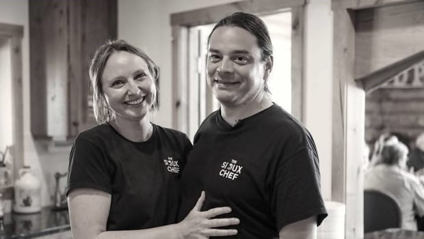 Dana Thompson and Sean Sherman, executives of The Sioux Chef (Photo courtesy of the Sioux Chef)