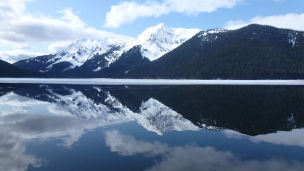 Mountain reflection in Tongass National Forest, Southeast Alaska. (Photo by Doug MacDougall, U.S. Forest Service, courtesy of Creative Commons)