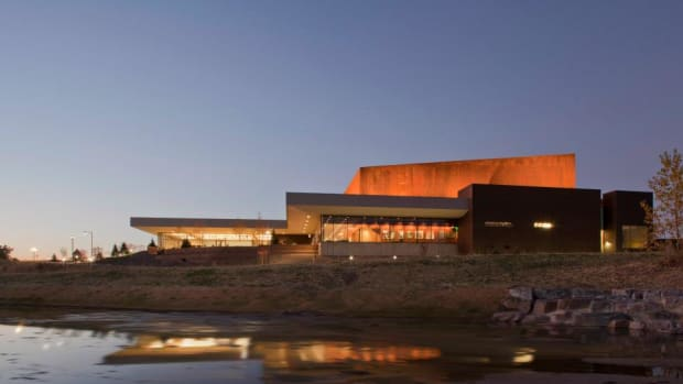 Pictured: The Parker Arts Center in Parker, Colorado.