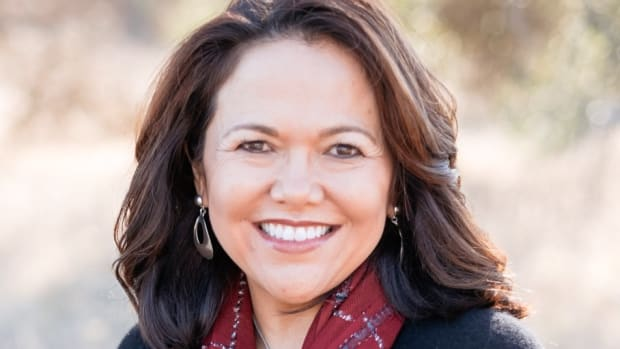 Holly Cook Macarro, Red Lake Nation, a partner in the lobbying firm Rock Spirit Consulting says Native Americans are changing their role in politics. (Photo courtesy of Holly Cook Macarro)