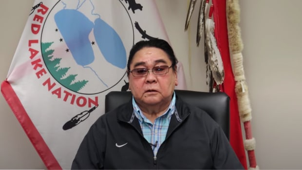 Red Lake Chairman Darrell Seki Sr. (Screengrab, YouTube)