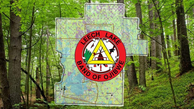 Leech Lake band of Ojibwe logo. (Photo courtesy of Leech Lake Band of Ojibwe website)