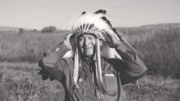 John Grant Bulltail, 80, died Oct. 1 from COVID-19 complications. (Photo courtesy of Tai Bulltail)