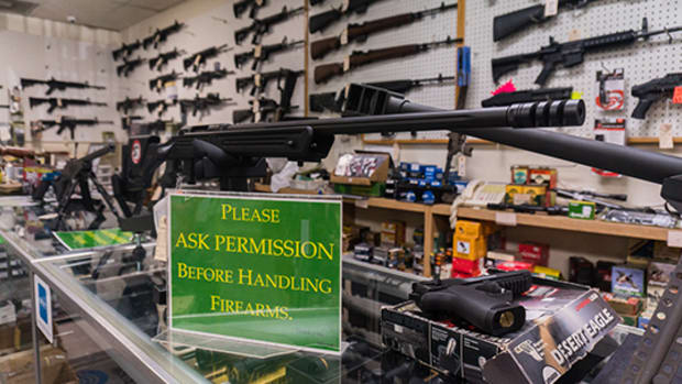 From March 16 to 22, days after COVID-19 was declared a global pandemic last year, the FBI conducted more background checks for gun purchases than in any week since its instant system launched in 1998. (File photo by Daria Kadovik/Cronkite News)