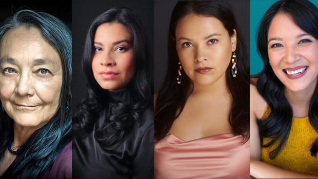 """Indigenous actresses Tantoo Cardinal, Cara Jade Myers, JaNae Collins, and Jillian Dion will play Lizzie Kyle, Anna Brown, Rita Smith, and Minnie Smith in Martin Scorsese's upcoming film, """"Killers of the Flower Moon."""" (Photo courtesy of Osage News)"""