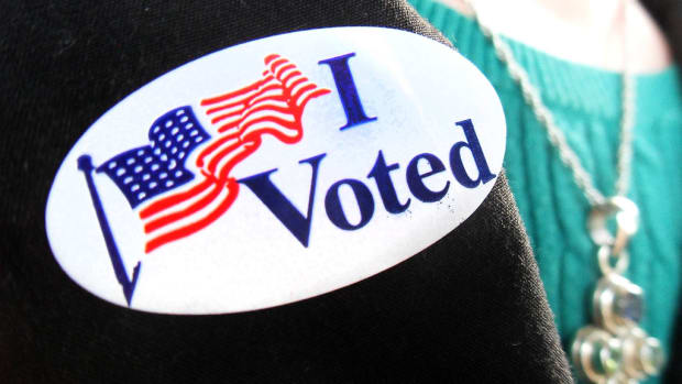 I voted sticker_Creative Commons_by SJ Sanders