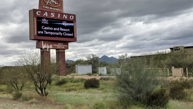Fort McDowell casino closed - Patty Talahongva - March 18. 2020