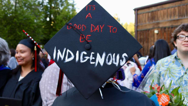 It's a good day to be Indigenous - graduation cap or hat - by Northwest Indian College