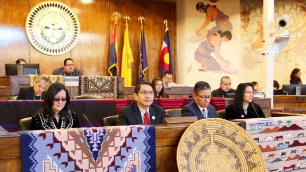 Navajo Nation Nez-Lizer admin