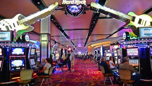 Former Las Vegas Hard Casino floor (Photo courtesy of Las Vegas Tourism)