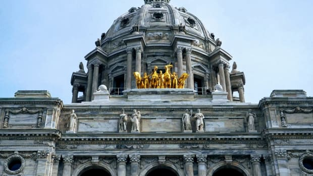 Pictured: Minnesota State Capitol in St. Paul.