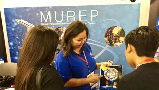 Raquel Redhouse, Diné, has worked at NASA for 18 years. (Photo courtesy of Redhouse)