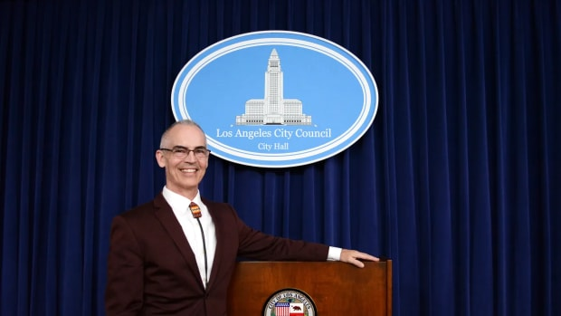 Pictured: City of Los Angeles Councilman Mitch O'Farrell, 13th District.