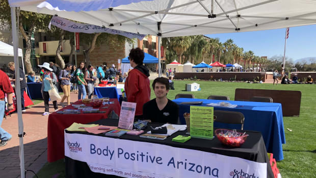 """I think there is starting to be this recognition and movement of diversity and celebrating diverse bodies,"" says Lisa MacDonald, who directs the student-led Body Positive Arizona. (Photo courtesy of Lisa MacDonald/University of Arizona)"