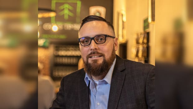 Jacob Keyes, Iowa Tribe of Oklahoma, owner and operate of SkyDance Brewing Company. (Photo courtesy of Gaylord News)