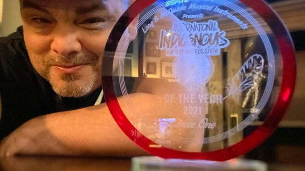 """Emcee One was awarded """"Best DJ of the Year"""" at the Indigenous Hip Hop awards (Courtesy image)"""
