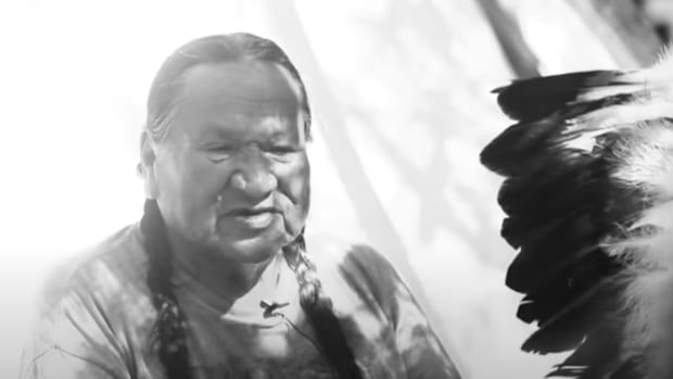 Pictured: The late Chief Leonard Crow Dog.