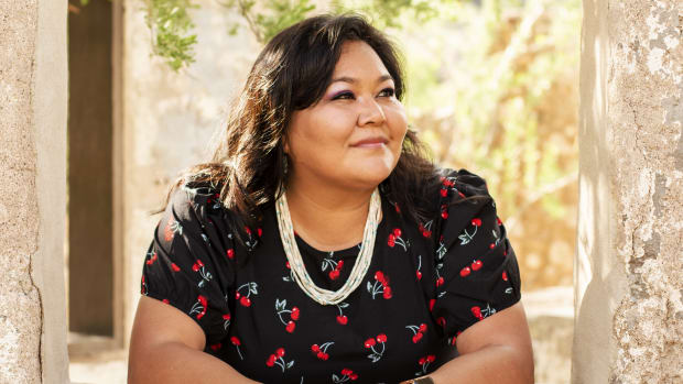 Valerie Tsosie, Navajo, leads the So'Tsoh Foundation, an organization that aims to create pathways to better health by offering innovative solutions for Diné caregivers. (Courtesy image)