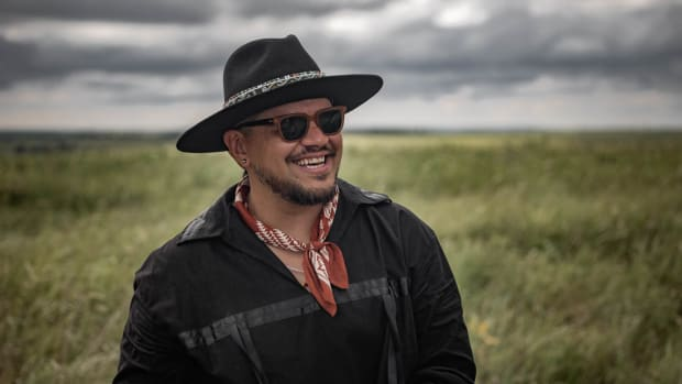 Sterlin Harjo is the director of 'Reservation Dogs' (Photo by Shane Brown)