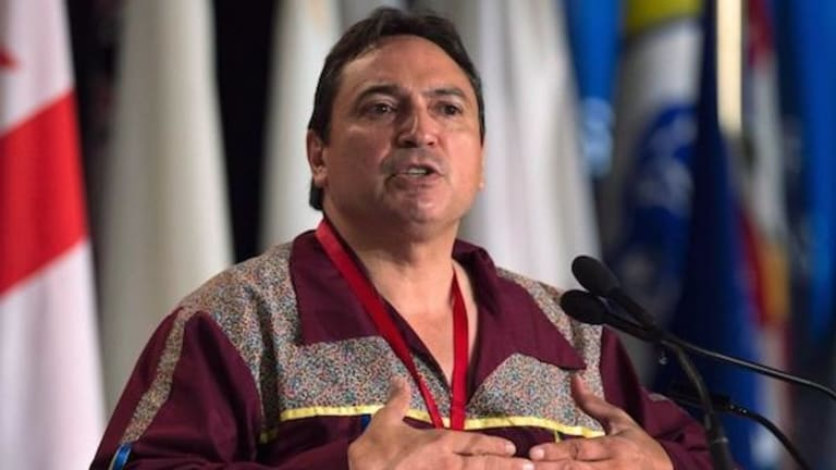 Assembly of First Nations National Chief Perry Bellegarde calls for an independent review of the police shooting of Chantel Moore
