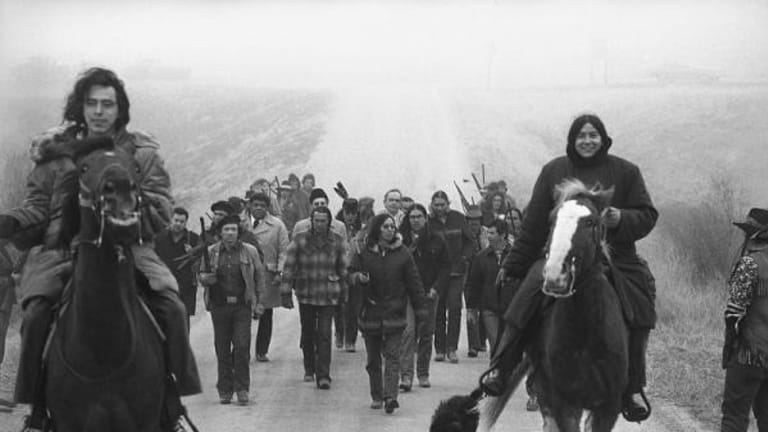 We remember Wounded Knee 1973 'WK 73'