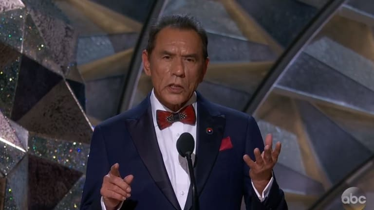 'I'm extremely grateful' Wes Studi receives honorary Oscar for his 30+ years in the film industry