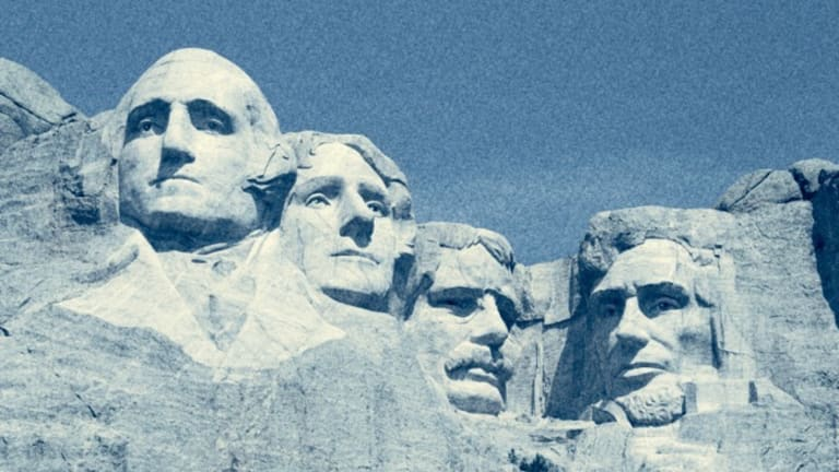 Celebration and dissent at Mount Rushmore: 'Faces of the colonizers'