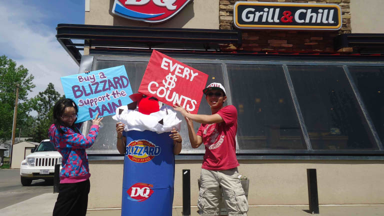 Cheyenne River Youth Project & Dairy Queen host 10th Annual 'Sweet Tooth for Youth' this month