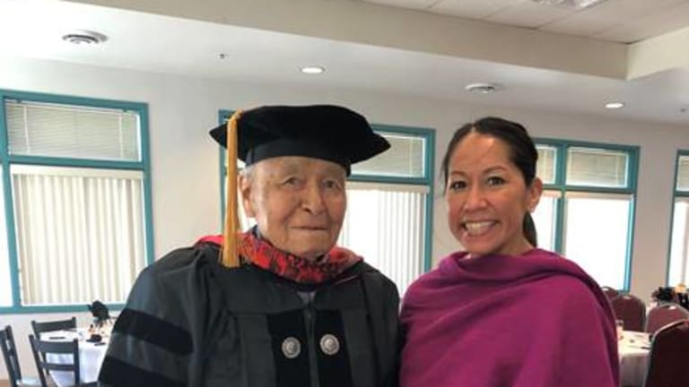 New Mexico Indian Affairs Department congratulates Senator John Pinto on Honorary Degree of Doctor of Public Service