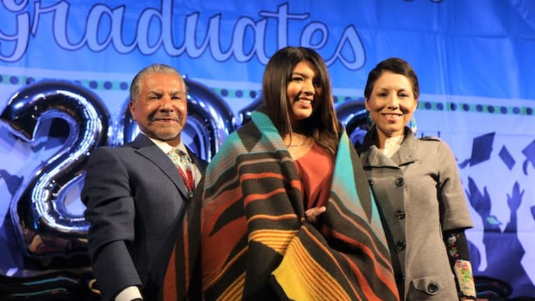 Recognition dinner honored the academic success of 100 local Native American graduates