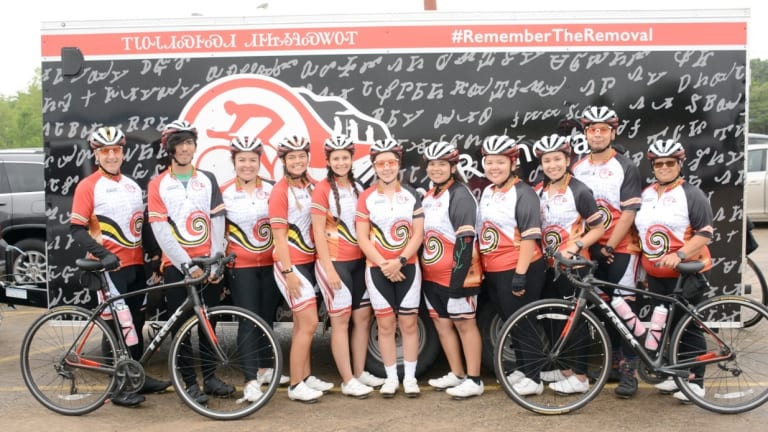 Cherokee Nation to host send-off for Remember the Removal Bike Ride cyclists