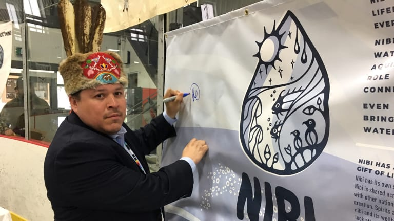 Nibi (Water) Declaration unanimously supported at the Anishinaabe Treaty #3 Chiefs National Assembly