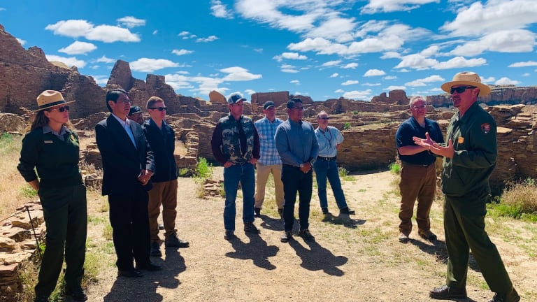 Navajo Nation President Nez advocates for Interior Secretary's support for the protection of Chaco Culture National Historical Park