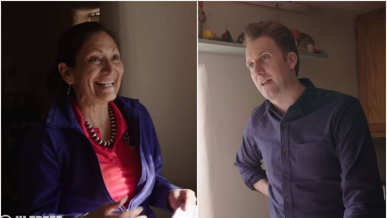 Comedy Central's Klepper show covers Native issues with Deb Haaland, Crystal Echo Hawk