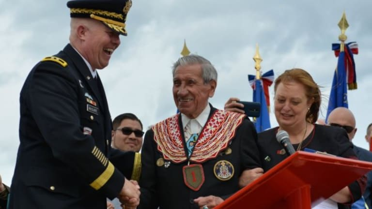 Native veterans honored on 75th anniversary of D-Day Allied invasion of Normandy