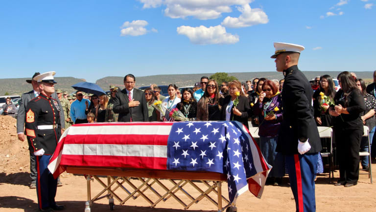 Honoring the Life of Navajo Code Talker William Tully Brown