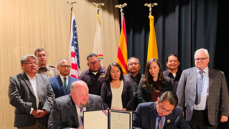 Navajo Nation finalizes disaster declaration agreement with Federal Emergency Management Agency