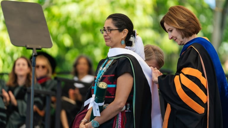 Hilary C. Tompkins '90 receives honorary degree, Doctor of Humane Letters at Dartmouth