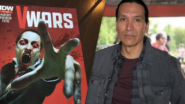 Michael Greyeyes discusses his role in the Vampire Apocalypse Netflix series: 'V-Wars'